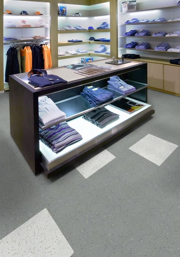 Image of retail store floor