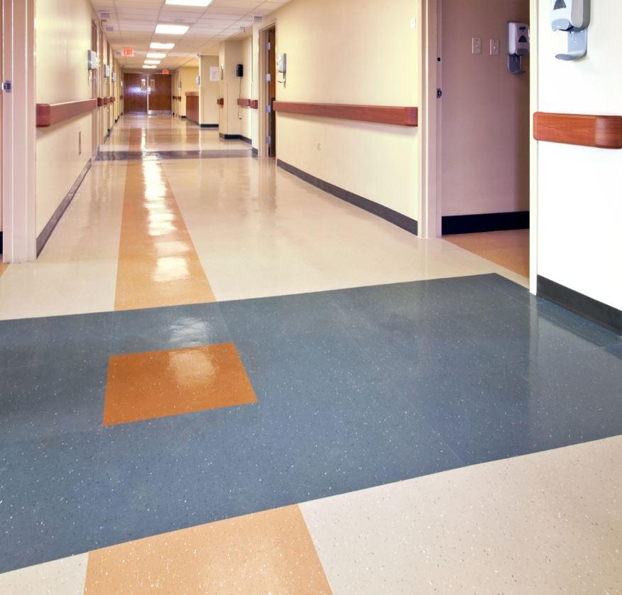 Image of hospital floor