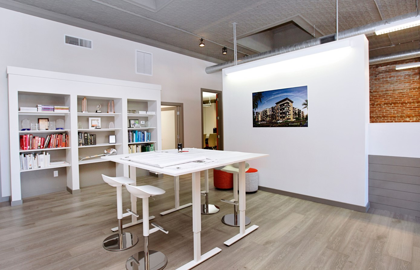 Design office with table