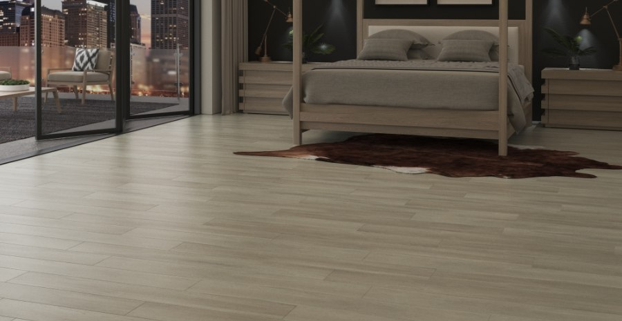 Maybree Flooring In A Penthouse Suite Bedroom