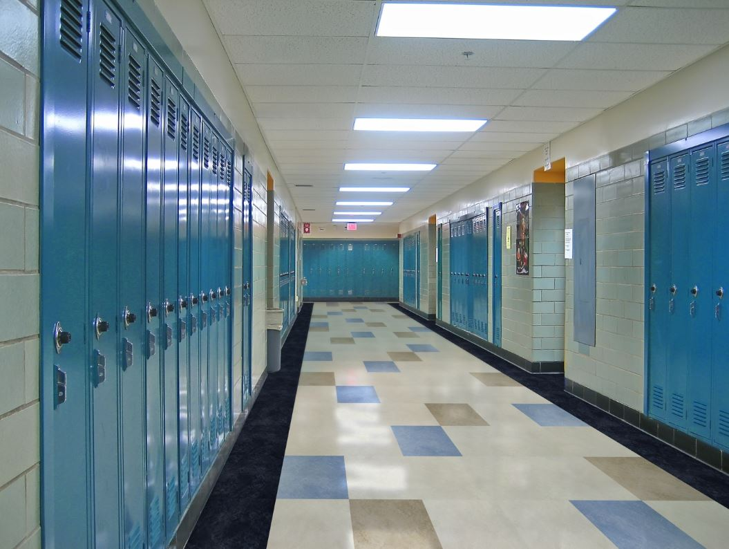 Image of school corridor