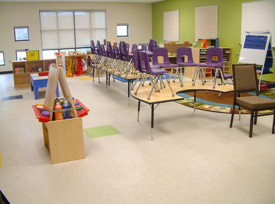 Image of inside classroom
