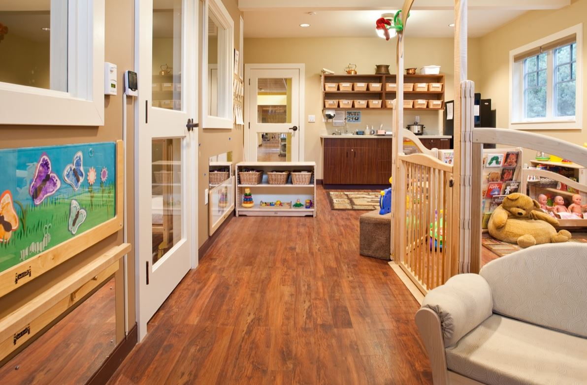 Image of day care floors
