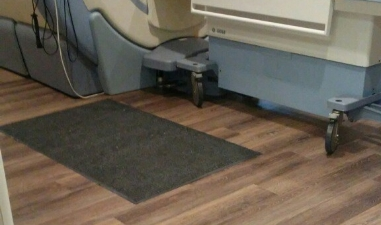 setagrip flooring in a hospital setting
