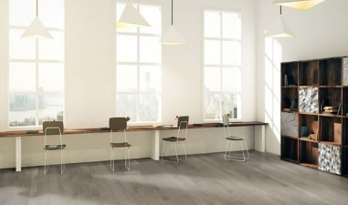 Wynwood flooring in an office setting